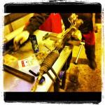 Установка рулевых тяг и рулевых наконечников