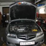 Accord CL9 ремонт рулевой рейки